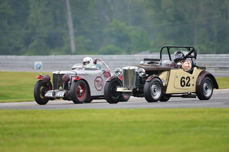 #704- 1939 MG-TB and 1950 MG-TD.