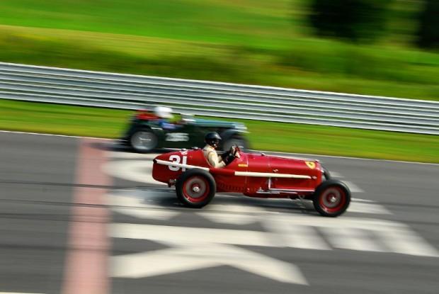 1931 Alfa Romeo Tipo B P3 of Peter Giddings at Lime Rock Historic Festival