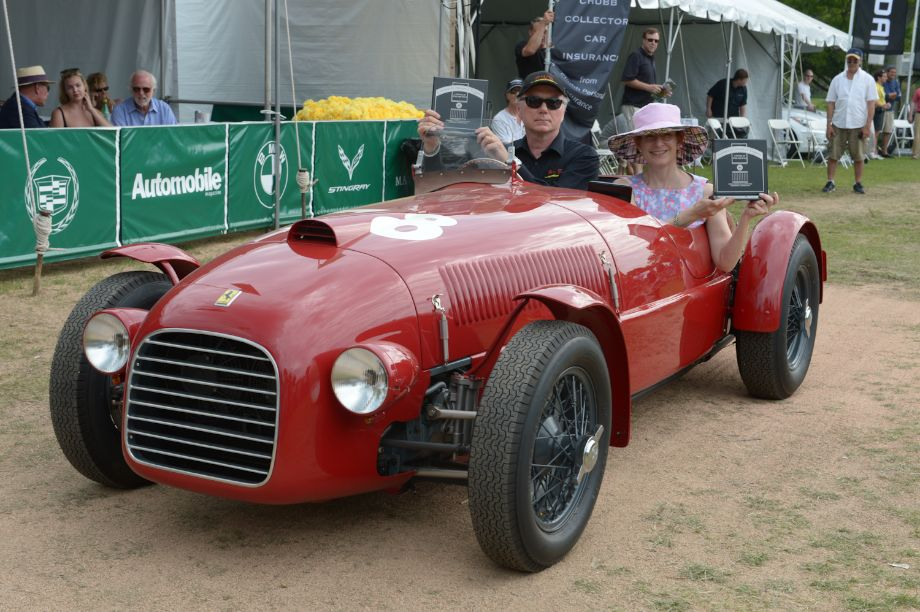 Best in Show - 1947 Ferrari 159S Spider Corsa, chassis #002C - James Glickenhaus