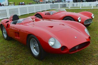 1956 Maserati 300S and 1953 Maserati A6 GCS MM