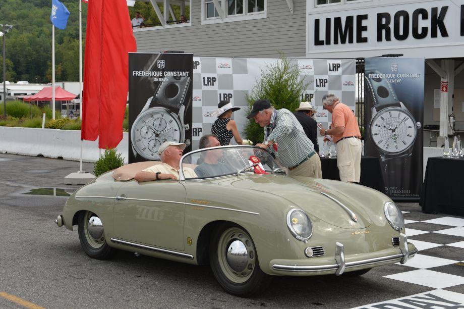 First: 1956 Porsche Carrera Speedster Prototype, Ben Edwards, Prospect, Conn.