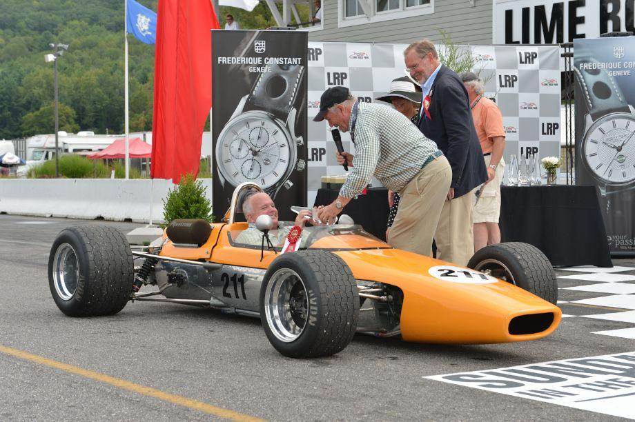 """The Marvel of McLaren,"" 50 years since the founding First: 1967 McLaren F2, McLaren's first monocoque design, Duncan Dayton, Miami, Fla."