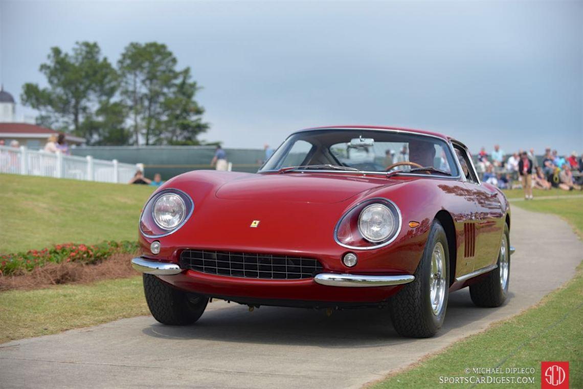 Class 10: Ferrari (until 1986) Best in Class: 1966 Ferrari 275GTB, John and Karen Gerhard, Ambler, Pa.