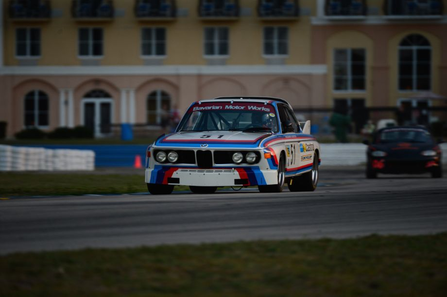 1972 BMW 3.0 CSL of Scott Hughes