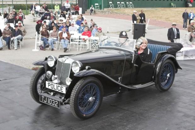 1933 MG L1 Magna Police Car