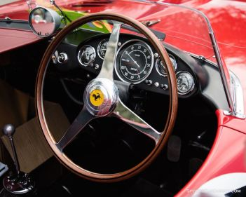 1956 Ferrari 290 MM (photo: Mark Coughlin)