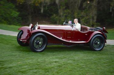 1932 Alfa Romeo 8C 2300 Zagato Spider (photo: Mark Coughlin)