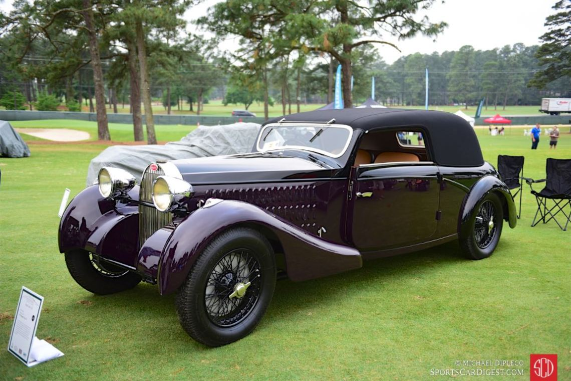 1935 Bugatti Type 57.