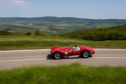 1954 Maserati A6GCS at Mille Miglia