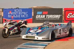 Martini Ducati 1098 S and Porsche 908/3