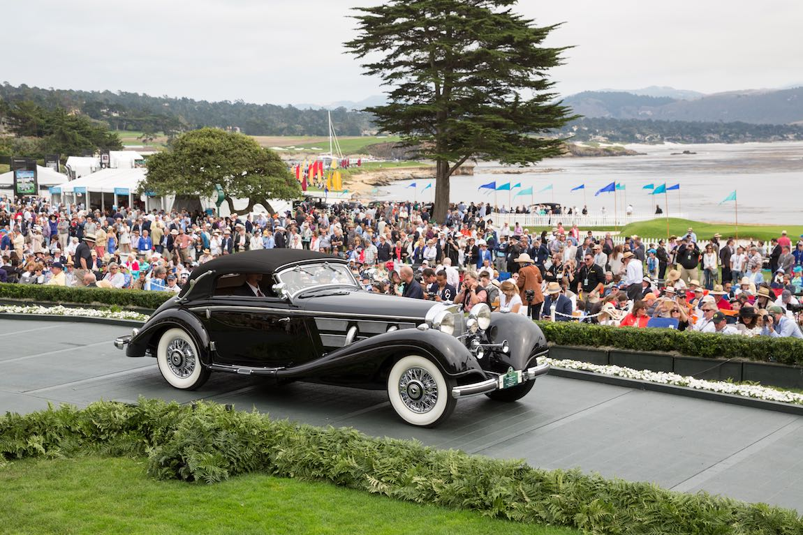 Pebble beach concours 2016 class winners photo gallery for Mercedes benz of va beach