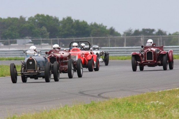Start of the Pre-War race