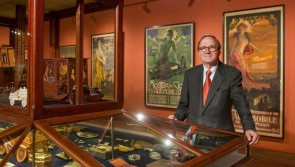 Owner of the collection, Mr. E.V.N. Louwman