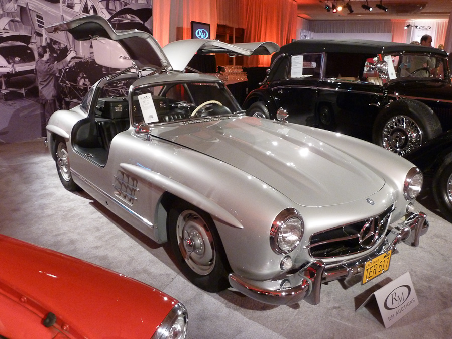 mercedes benz gullwing picture
