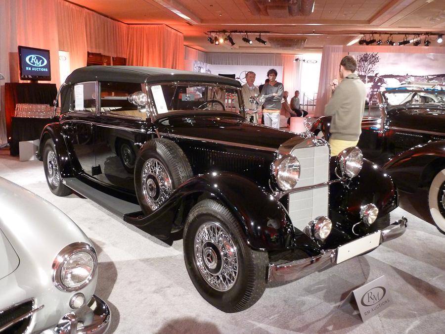 1935 mercedes benz 290 cabriolet d picture