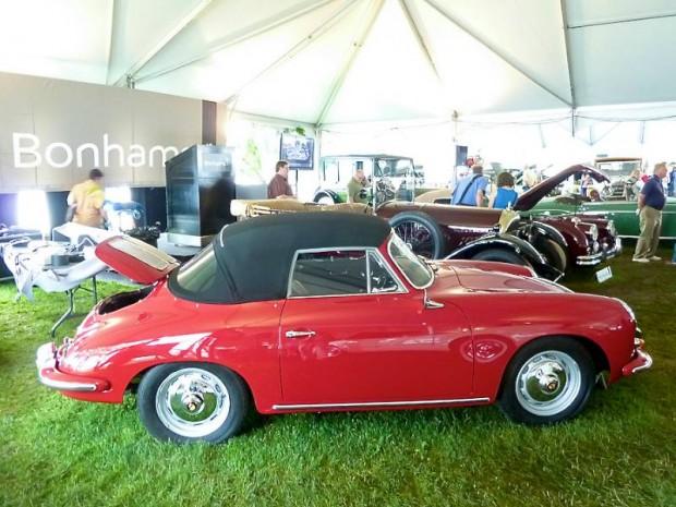 1963 Porsche 356B Super 90 Cabriolet