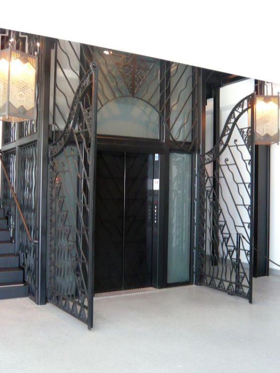 Mullin Museum elevator