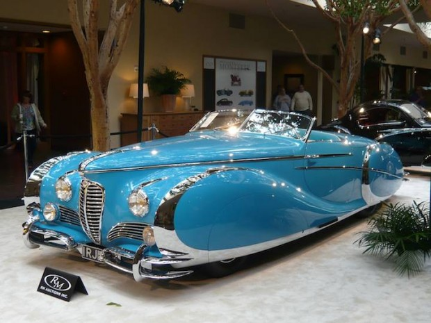 1949 Delahaye 175 S Roadster, Body by Saoutchik
