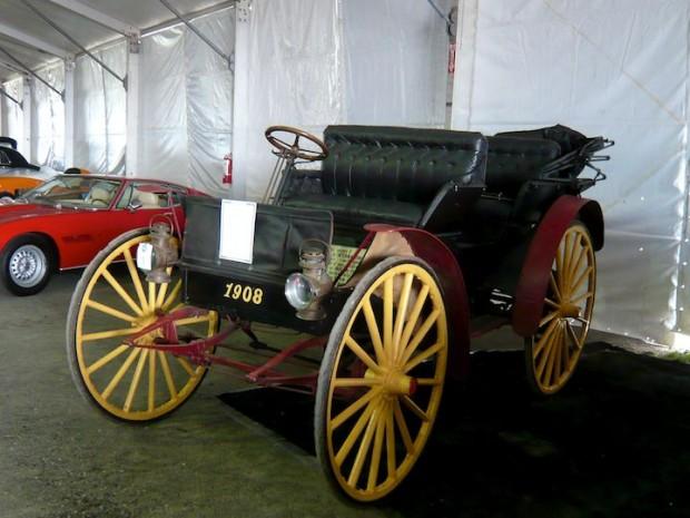 1908 International Model D High Wheeler
