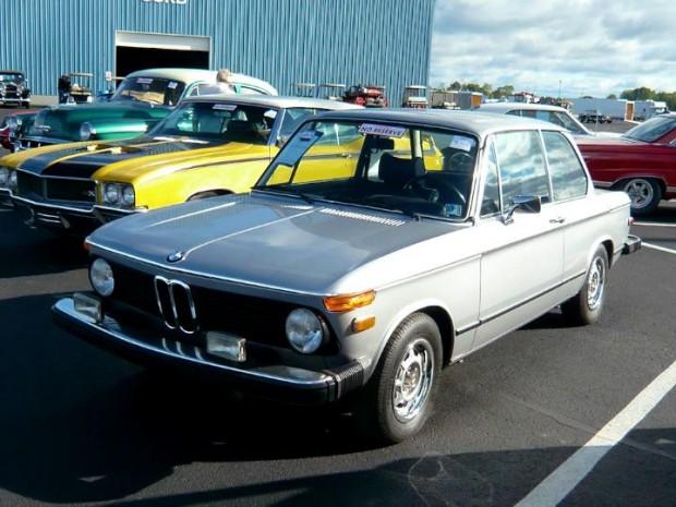 1976 BMW 2002 2-Dr. Sedan