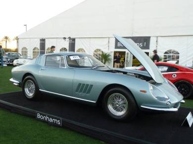 Ferrari 275 GTB/6C at Bonhams Scottsdale 2014