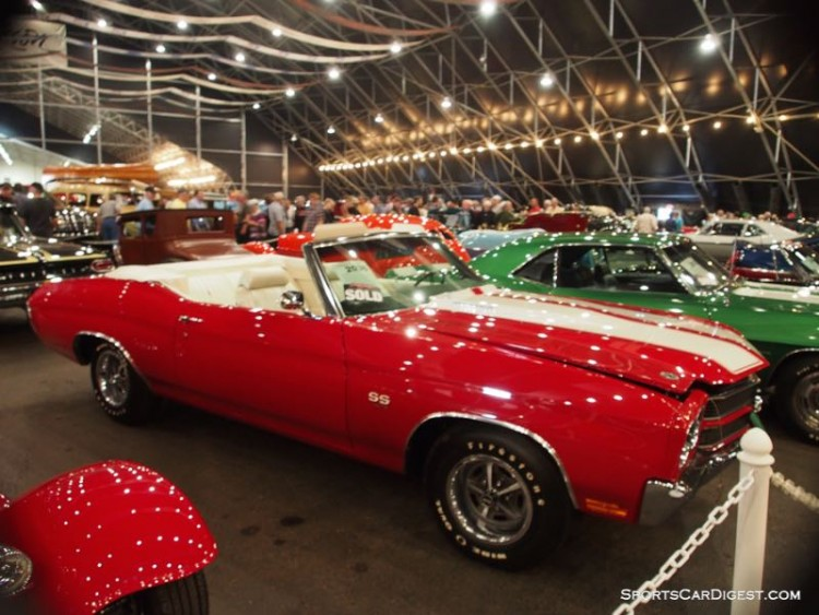 1970 Chevrolet Chevelle Malibu Convertible sold for $148,500
