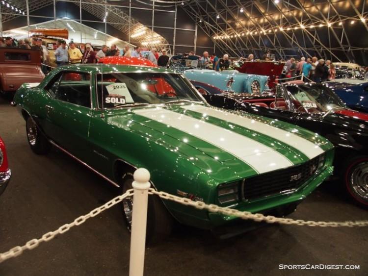 1969 Chevrolet Camaro Z/28 sold for $148,500