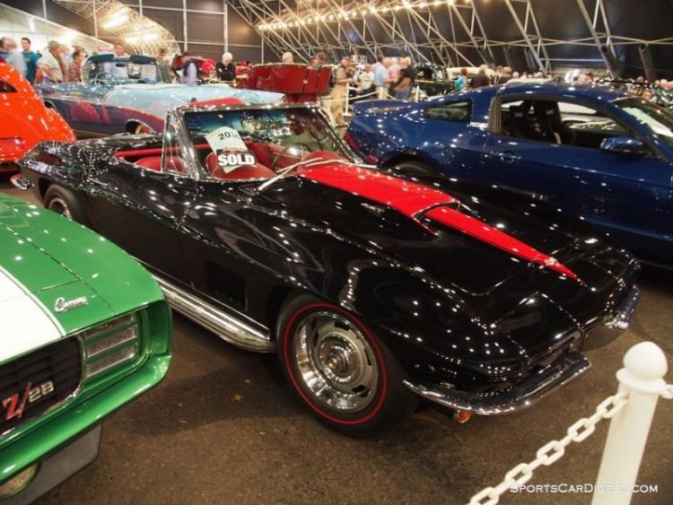 1967 Chevrolet Corvette 427/435 Convertible sold for $170,000