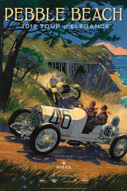 Posters Revealed For 2012 Pebble Beach Concours DElegance
