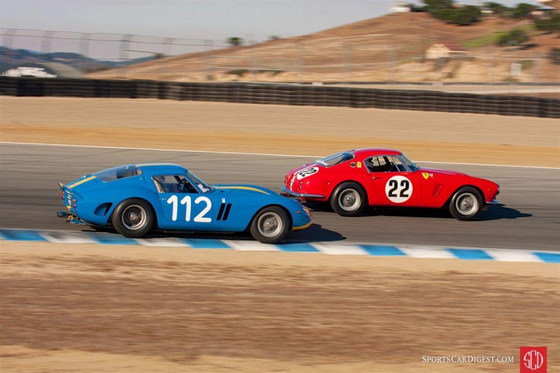 Chris Cox - Ferrari 250 GTO, Robert Bodin - Ferrari 250 GT SWB