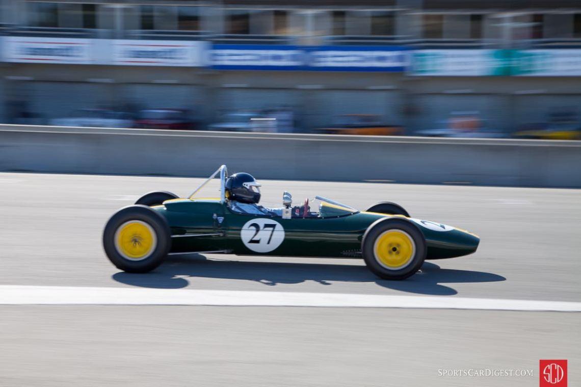 Chris Locke - Lotus 27 Formula Junior