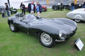 Jaguar D-Type at Pebble Beach Concours d'Elegance