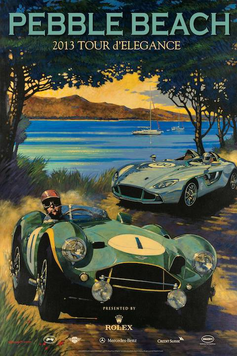 Mazda Raceway Laguna Seca >> Pebble Beach Tour 2013 Will Lap Laguna Seca