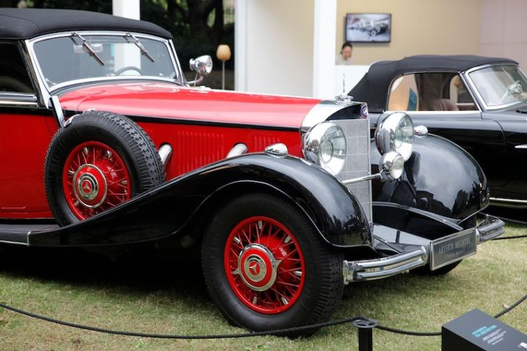 People's Choice Award Pre - 1950 Mercedes-Benz 500K