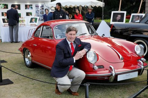 Porsche 356 and Iain Tyrrell