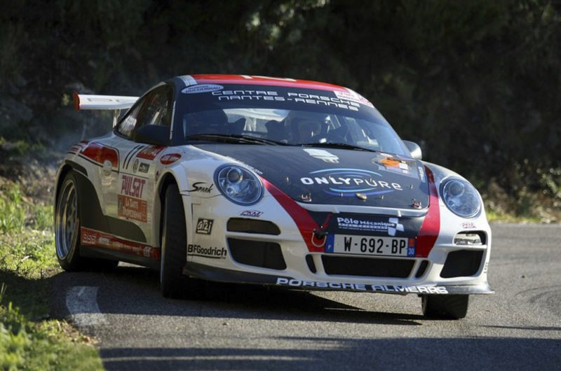 Porsche Factory Drivers Compete In 911 Gt3 Rally Car