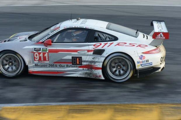 GT Le Mans Class winning Porsche 911 RSR