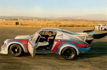Trevor Ely in the Porsche RSR Carrera Turbo