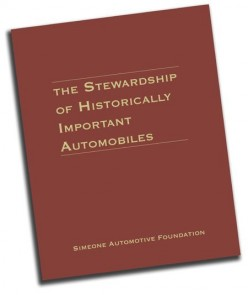 The Stewardship of Historically Important Automobiles Book Cover