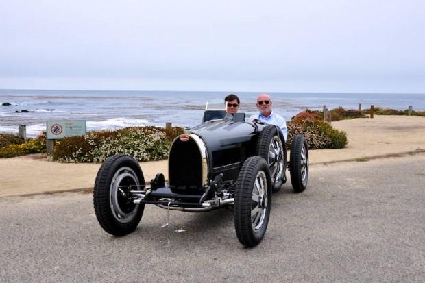 Black Bugatti Type 35 B
