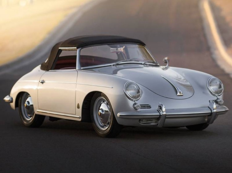 1960 Porsche 356B 1600 Super Roadster, Body by Drauz