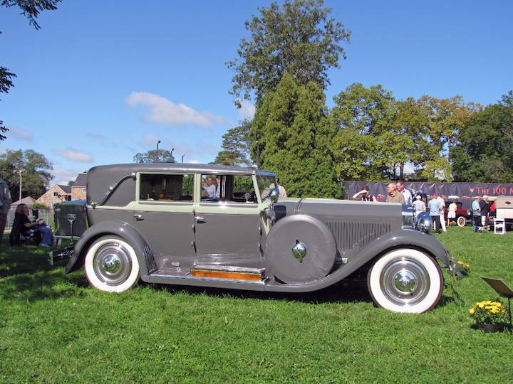 Best Of Show 1929 Isotta Fraschini Tipo 8a Limousine Morton