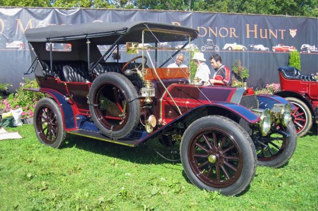 <strong>Veteran Award, 1910 Pierce Arrow SS 48 HP 7-Passenger Touring</strong>