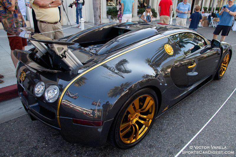 Manny Khoshbin's 2008 Bugatti Veyron Mansory Linea Vincero