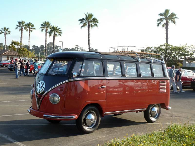 Russo and steele newport beach 2013 auction report for 1958 volkswagen 23 window bus