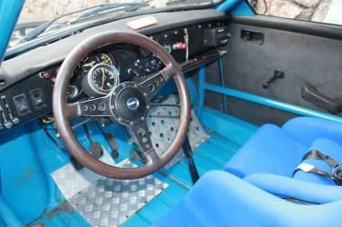 1970 SAAB 96 Rally Interior