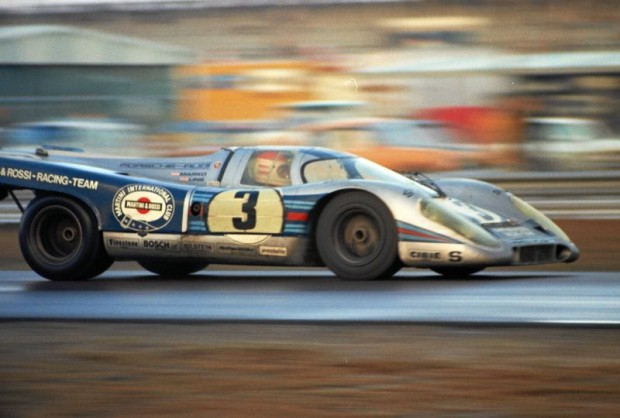 Porsche 917K of Helmut Marko and Rudi Lins.