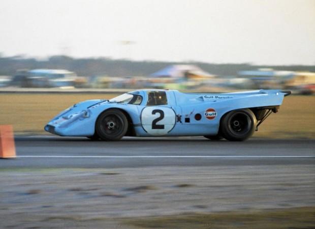 Pedro Rodriguez and Jackie Oliver Porsche 917K