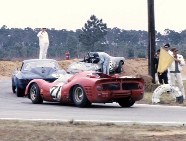 Elva Courier, 1966 Sebring 12 Hours