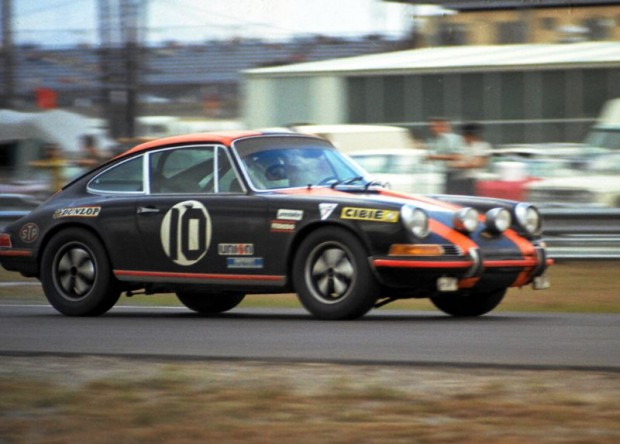 Porsche 911S of Ray Walle and Michael Sherwin